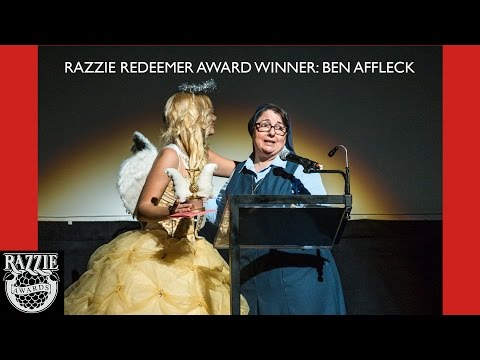 Razzie Redeemer Award Winner:  Ben Affleck
