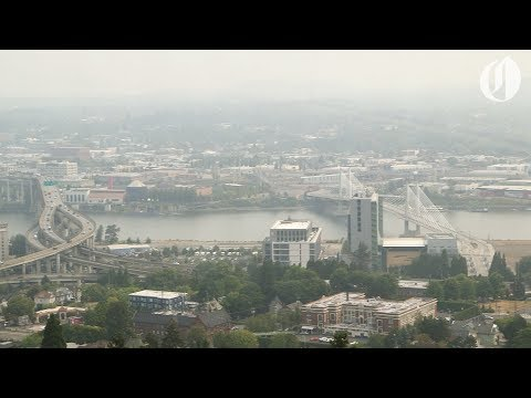 Air quality dips in Portland as smoke from Camp Fire filters north