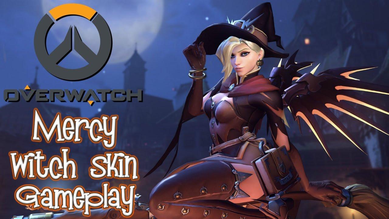 Mercy witch skin