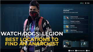 Watch Dogs Legion Where To Find An Anarchist (BEST LOCATION TO RECRUIT AN ANARCHIST)