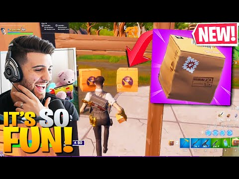 First Look At *NEW* BOXES In Fortnite Season 2! They're SO Useful! (Fortnite Battle Royale)