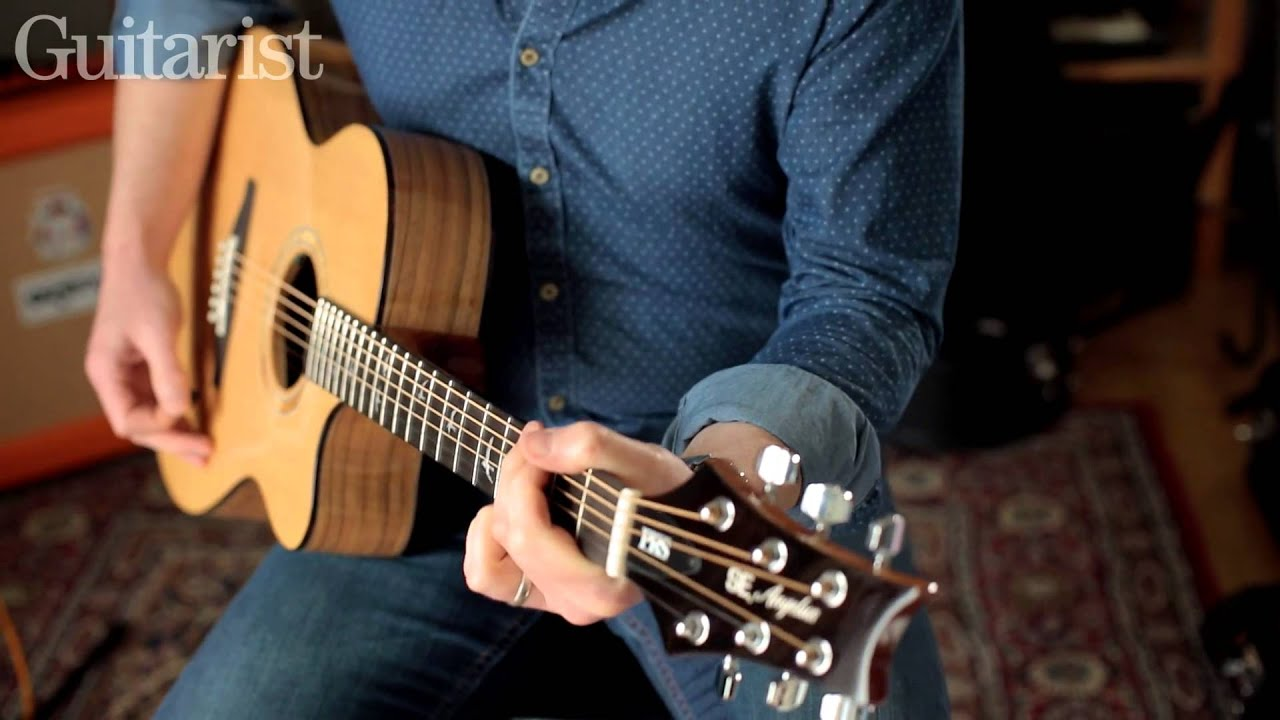 prs se a15al alex lifeson ae10e acoustic guitar review demo