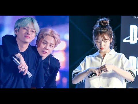 Btss Jimin V And Oh My Girls Seunghee As High School Homeroom