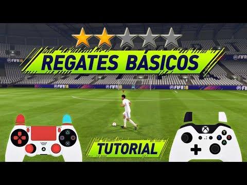 FIFA 18 TODOS los REGATES de 1 y 2 ⭐️ FILIGRANAS - REGATES BÁSICOS TUTORIAL