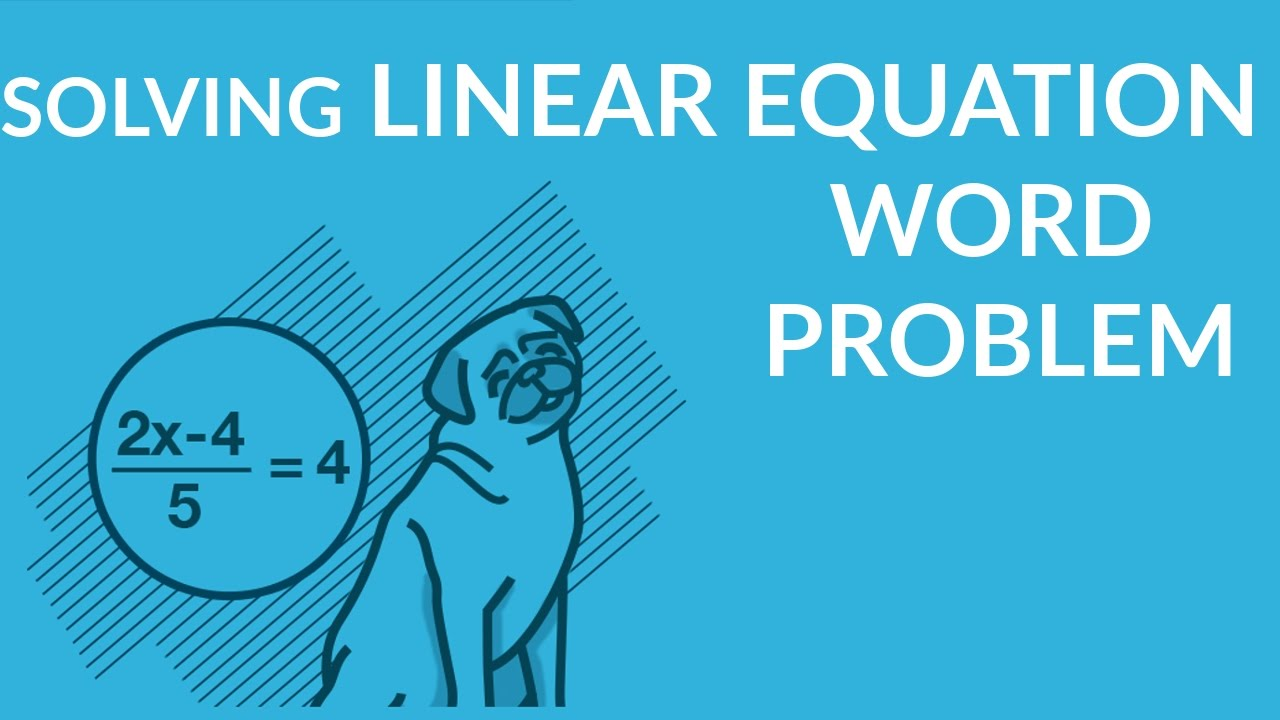 ʕ•ᴥ•ʔ Linear Equation Word Problem Examples: Distance, Time & Rate ...