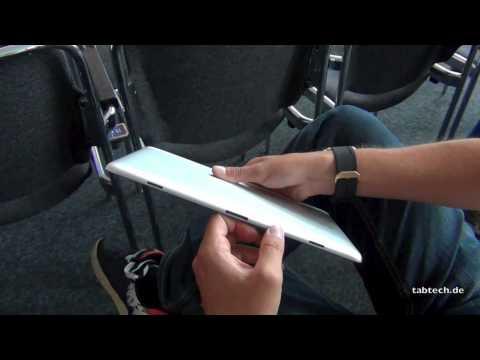 Huawei MediaPad 10 FHD Hands On - Deutsch @ IFA 2012