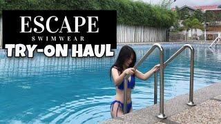 BIKINI TRY-ON HAUL ft. Escape Swimwear 2020 (Philippines)    Cinderella C.