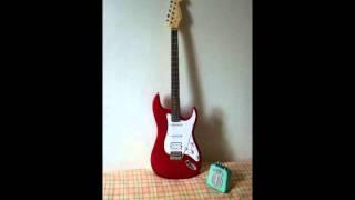 Moon Patrol - amp Honeytone + stratocaster