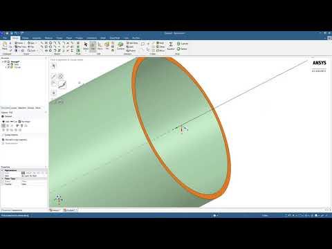 creating-geometry-using-ansys-spaceclaim
