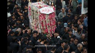 AHD LIVE 2 Safar Jhoola Shehzada Ali Asghar (A.S) Procession, Hyderabad  INDIA