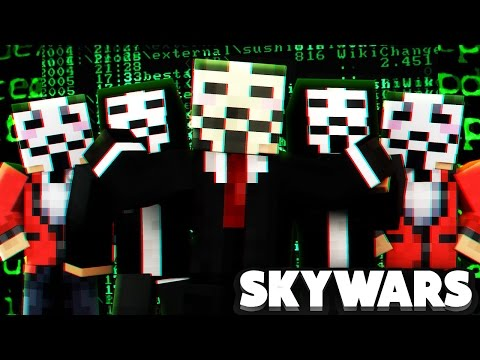 Minecraft Skywars Hacker Compilation ( Rage= )