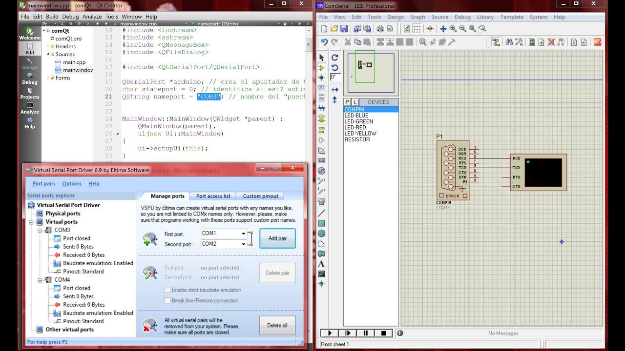 virtual serial port driver 7.1 full + keygen kurulumu