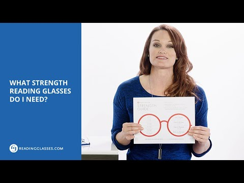 What Strength Reading Glasses Do I Need?