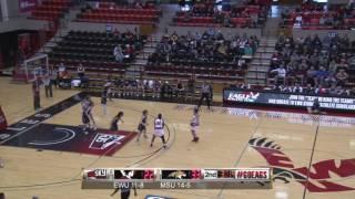 Highlights of Eastern Women's Basketball against Montana State ( Jan. 28).