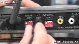 Transmit Sky TV to your Bedroom - DigiSender DG400 Installation & Troubleshooting Guide
