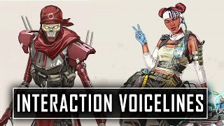 """ALL"" NEW  Interactions Between All The Legends -  Apex Legends Season 7"