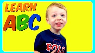 learn abc alphabet with 3 year old fun educational abc alphabet video for kindergarten toddlers
