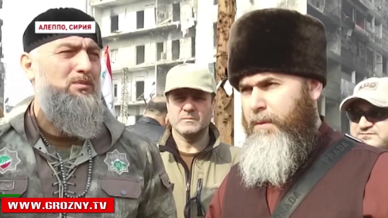 Муфтий республики Салах Межиев и советник Главы Чечни ...