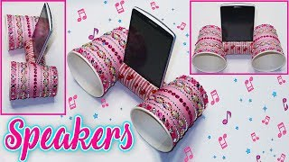 🔊 🎶 DIY: Homemade Speakers (Easy and Quick) 🔊 🎶