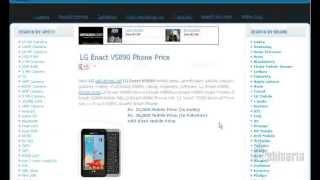 LG Enact VS890 Specs And Price