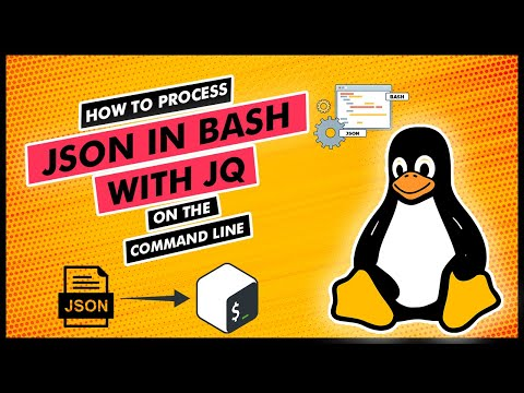 Process JSON in Bash with Jq on The Command Line