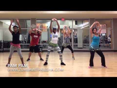 """Pam Pam"" by Grupo BIP - ZUMBA with Kiesha"
