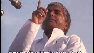 lalu prasad yadav s dharma yudh against intolerance lalu stops chariot of advani
