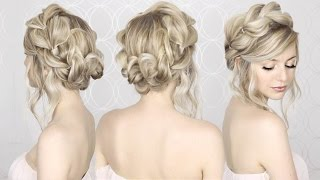 HOW TO: Pull Through Crown Braided Hair Tutorial | Summer inspired, long, medium hair