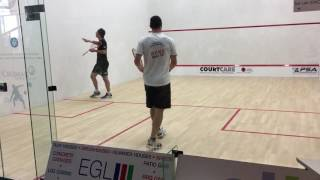 Squash - 2016 David Palmer vs Joe Lee