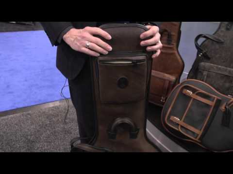 NAMM 2016 - Levy's Leathers - Distressed Series Gig Bags