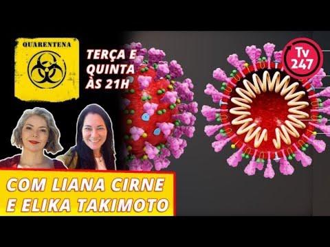 Quarentena - Com Elika Takimoto E Liana Cirne Lins