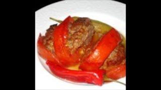 Запеченные помидоры с фаршем по- арабски