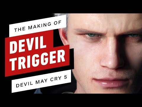Creating Devil May Cry 5's 'Devil Trigger' thumbnail
