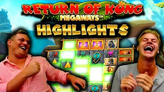 Return of Kong Megaways - BIG WIN Highlights!