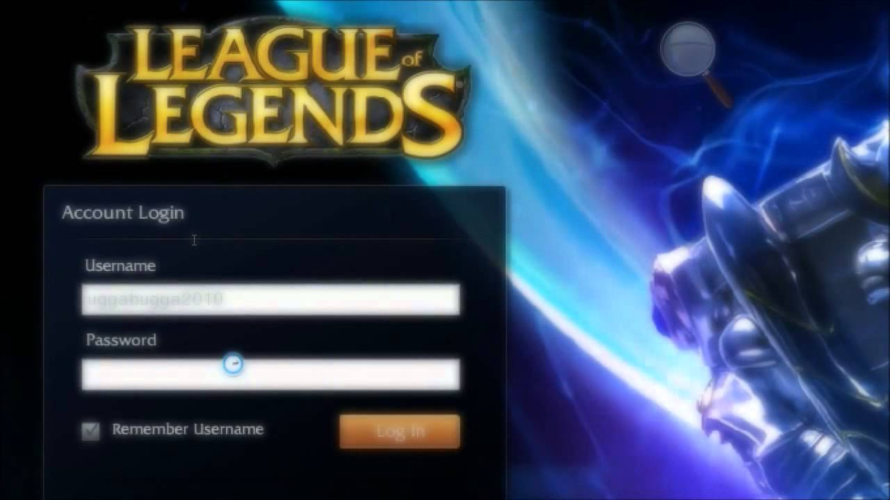 download league of legends account password hack