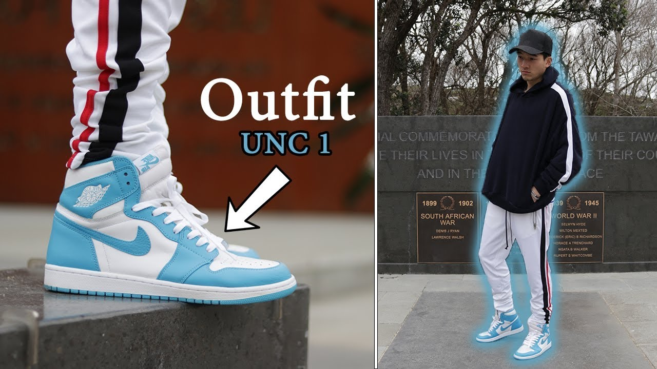 9fb91e9b722 Styling Air Jordan 1 (UNC) | Cozy Outfits | Ft. MNML LA Track Pants and  Lakenzie [OOTD #120]