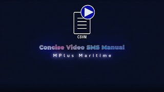 Concise SMS Video Manuals
