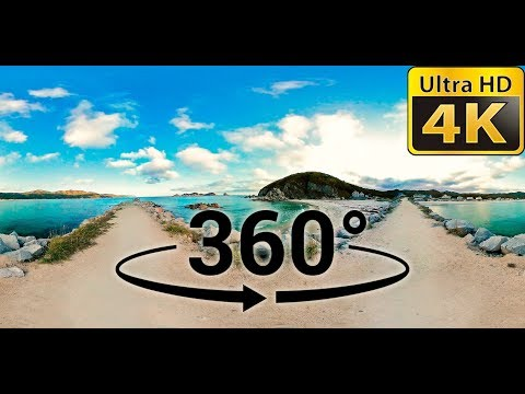 Sound of the Sea, 1 Hour (Ocean Noises) - VR 360 Video