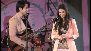 Ali Zafar & Aditi Rao Hydari Live Performance promoting
