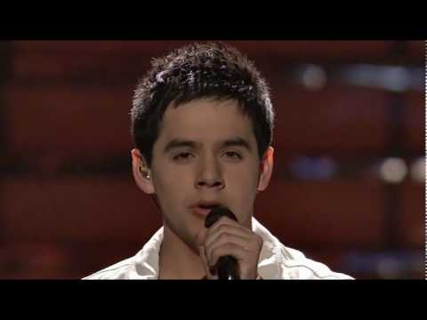 David Archuleta  Imagine finale