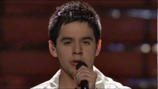 David Archuleta - Imagine [finale]