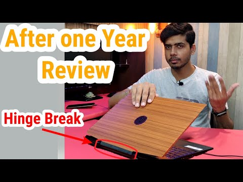 HP Pavilion Gaming Laptop 15-dk0045TX, After one Year Review, Hinge, Heating Issue - Unboxing Wala