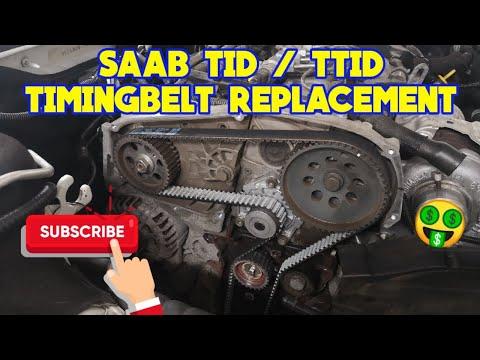 Saab 9-5 9-3 TID / TTID Timingbelt Replacement