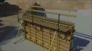 Encofrado modular ligero en medidas imperiales MEGALITE - ULMA Construction [es]