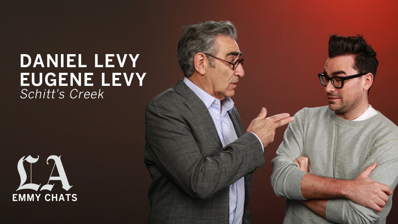 Daniel and Eugene Levy are up 'Schitt's Creek' in the best of ways