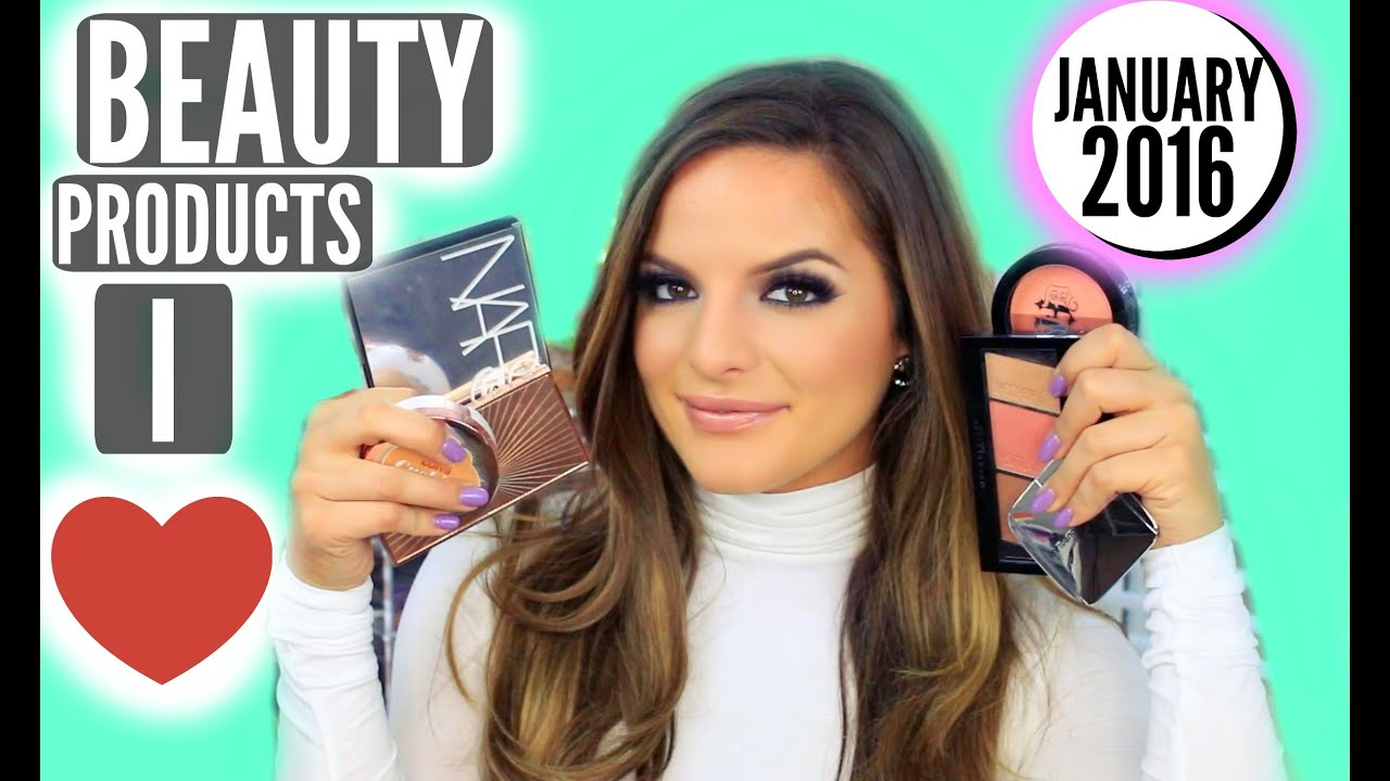 NEW BEAUTY PRODUCTS I LOVE! January 2016 | Casey Holmes