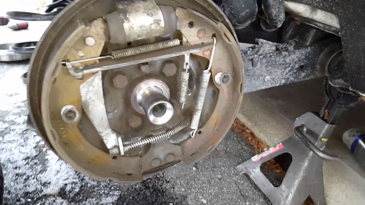 2012 VW Jetta DRUM brake adjustment YouTube