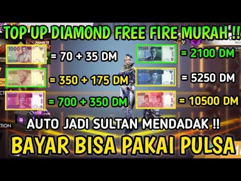 Ternyata Di Sini Tempat Top Up Diamond Free Fire Murah Dapat Diskon Berlimpah Auto Jadi Sultan Youtube
