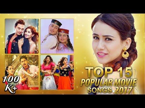 Top Nepali Movie Songs Of 2017 (TOP 15) | Video JukeBox | Highlights Music