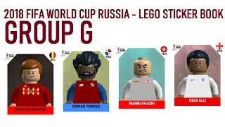 Lego World Cup Sticker Book - Russia 2018 - Group G